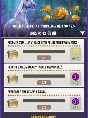 The Harry Potter Wizards Unite 'Brilliant' Event is now Live