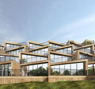 NL Architects + STUDYO Design Terraced Affordable Housing for Frankfurt