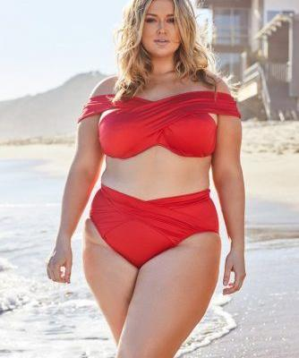 Finally, the Sexy Plus-Size Swimwear Collection We've All Been Waiting for by Hunter McGrady