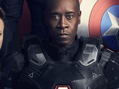 Suiting Up As War Machine Again Isn't Easy For Rhodey in Avengers: Infinity War
