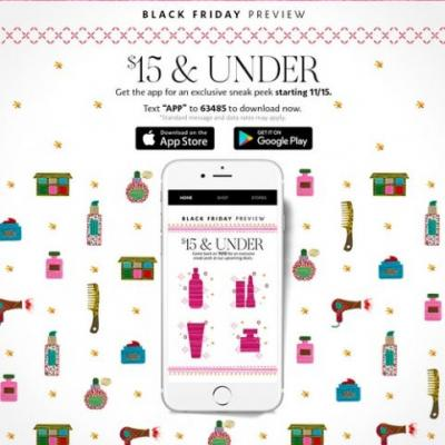 Sephora's Black Friday 2018 Preview Will Give Customers A Sneak Peek At Some Major Holiday Savings