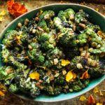 Grilled Broccoli with Spicy Lemon Vinaigrette