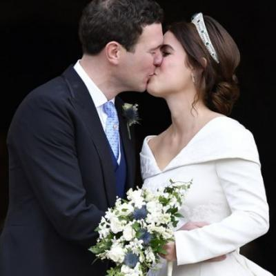 Princess Eugenie & Jack Brooksbank's Official Wedding Portraits Show These Special Moments