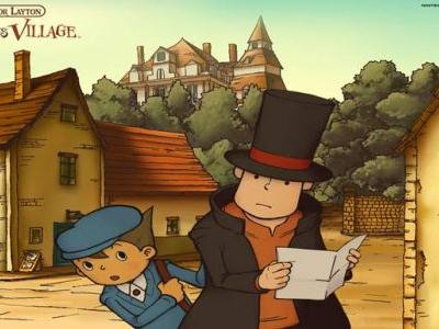 Professor Layton and the Curious Village's Mobile Version Out Now on iOS and Android
