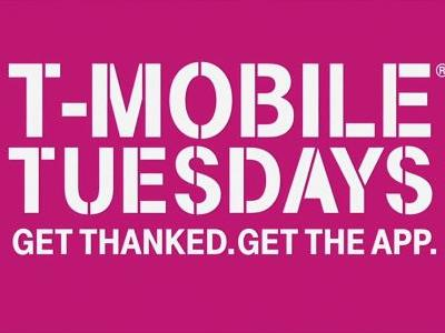 Next week's T-Mobile Tuesdays to include $4 movie ticket, online cooking glass, and San Diego adventure grand prize