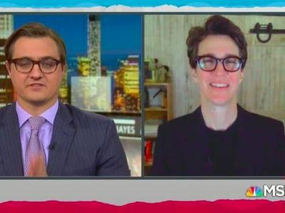 Rachel Maddow's Return Most-Watched Program on Thursday at 9PM; One Fox News Primetime Show Falls to Third in Its Timeslot in Demo Ratings