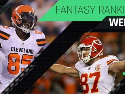Week 7 Fantasy Rankings: TE