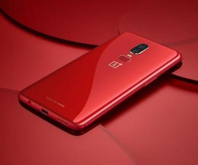 OnePlus 6 Red Smartphone Launched