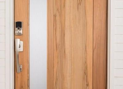 Array by Hampton brought locks and security lighting to CES 2019