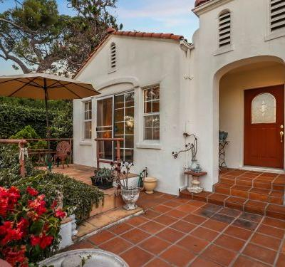 The home where the infamous Charles Manson murders took place is on the market for $1.98 million, and the listing agent says it has 'spectacular' views