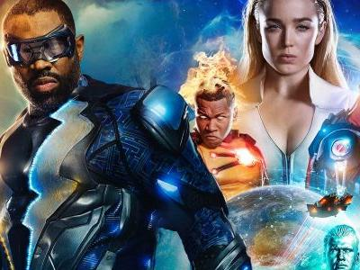 Black Lightning Sets Premiere Date; Legends of Tomorrow is Moving