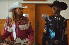 Lil Nas X Time Travels in Star-Studded 'Old Town Road' Video Featuring Billy Ray Cyrus & More: Watch