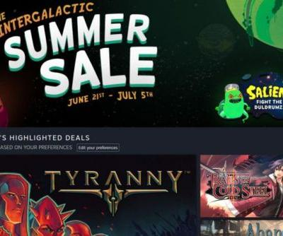 The Intergalactic Steam Sale kicks off with steep deals on PC games, a $2.50 Steam Link, and an alien-blasting side activity
