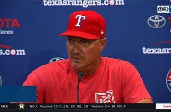 Jeff Banister talks tough loss to Indians in 11th inning