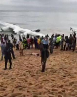 The Latest: 4 Moldovans dead in plane crash off Ivory Coast