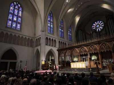 George H.W. Bush Receives Final Funeral In Houston