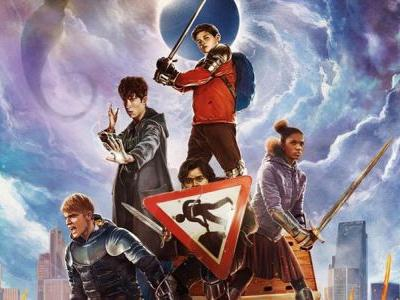Slay Evil Armies in The Kid Who Would Be King Poster