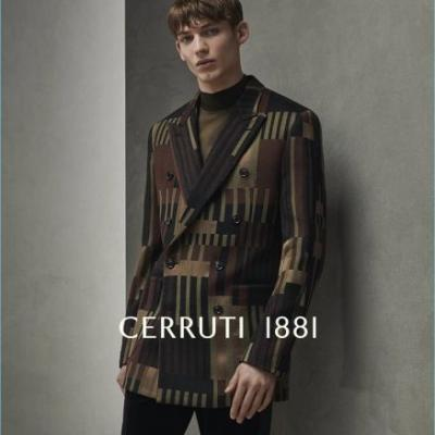 Christopher Einla & Oliver Houlby Embrace Elegant Style for Cerruti 1881 Fall '18 Campaign