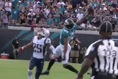 Watch: Jaguars' Keelan Cole posts early Catch of the Year nominee