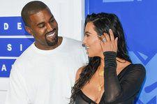 Kanye West Briefly Memes His 'SNL' Bottle Outfit Into Kim Kardashian's Infamous Champagne Photo