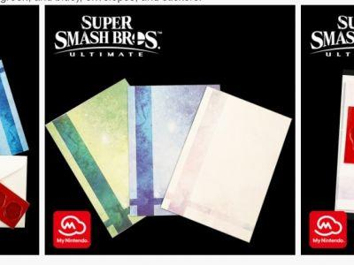 You can get an official set of real life Smash Bros. envelopes now on My Nintendo