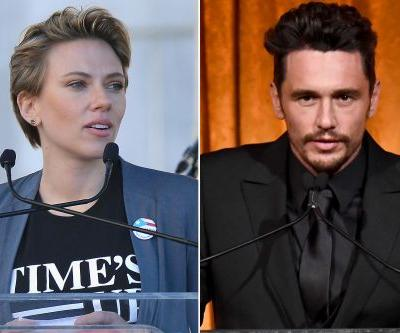 Scarlett Johansson under fire for attacking James Franco at Women's March