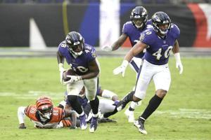 The Latest: Ravens place DT Brandon Williams on COVID list