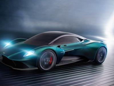 Aston Martin Vanquish Vision Concept Revealed With New V6
