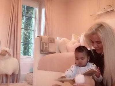 Khloé Kardashian Is Still Killing The Mom Game As She Reads The Cutest Story To True