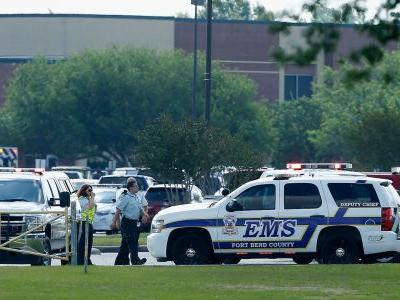 The Santa Fe shooting suspect used his father's guns to carry out the attack, governor says