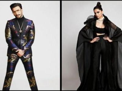 Deepika and Ranveer spill black magic at first red carpet appearance after wedding