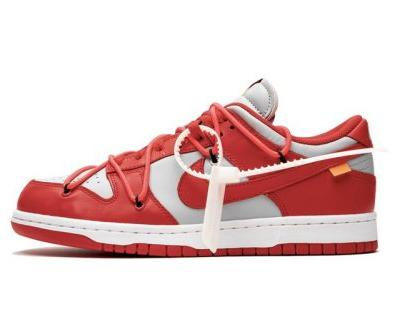 "A Better Look at the Off-White™ x Nike SB Dunk Low ""University Red"""