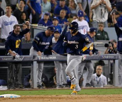 Brewers shut down Dodgers offense to take NLCS lead