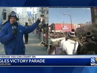 Joe Calhoun - Philly native, Eagles fan and our Weatherman is on Cloud 9