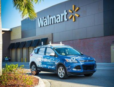 Ford and Walmart are teaming up to test delivering products with self-driving cars