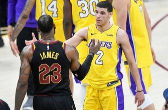 LeBron's triple-double leads Cavs past Ball, Lakers