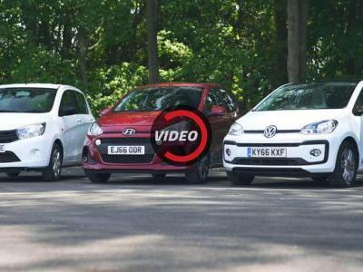 Suzuki Celerio, Hyundai i10 Or VW Up!: Which City Car Would You Go For?