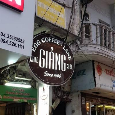 Giang cafe - A quick guide to the best egg coffee in Hanoi