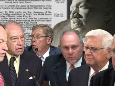 Here Are The Six Current Members of Congress Who Voted Against Martin Luther King Jr. Holiday