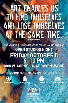 Fri Oct 5 Cornelia Arts Building Open House