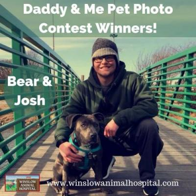 Daddy & Me Pet Photo Contest | Winslow Animal Hospital Dog & Cat