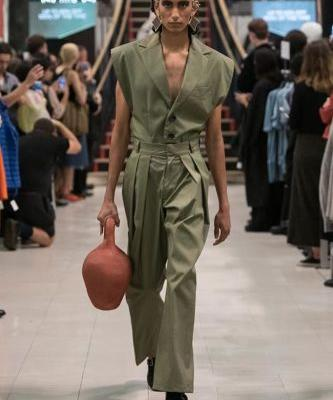 Barragan Spring 2019: New York Fashion Week
