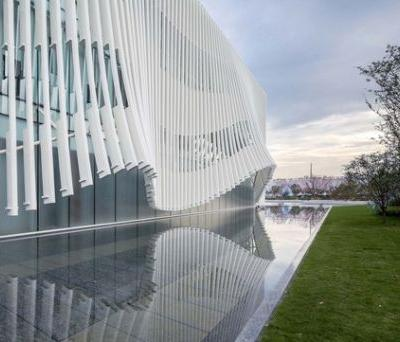 Xiangcheng District Planning Exhibition Hall / Lacime Architects