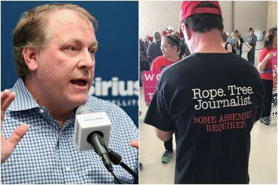 Curt Schilling: Shirt endorsing lynching journalists is 'awesome'