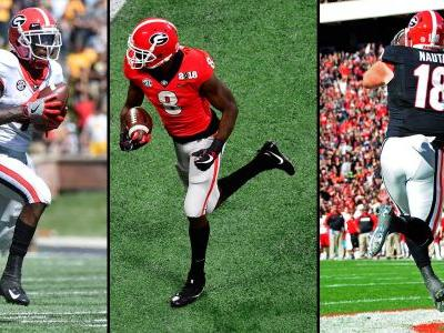 NFL Draft 2019: Georgia's Mecole Hardman Jr., Riley Ridley, Isaac Nauta will forgo senior seasons