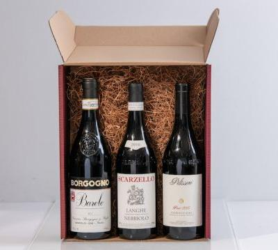Holiday Wine Gift Boxes