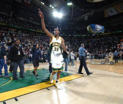 Kevin Durant: Seattle 'Most Definitely' Deserves Another NBA Team