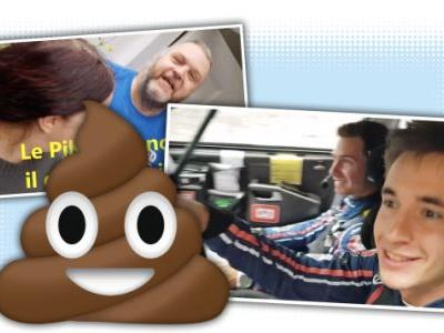 Rally Driver Stops Mid-Race At Someone's House to Have a Poo