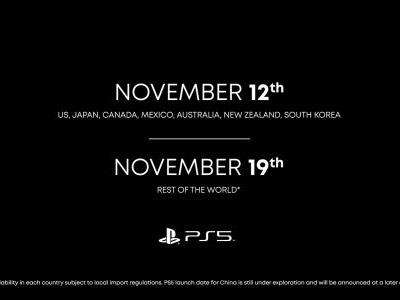 PlayStation 5 launches in November, starting at $399 for PS5 Digital Edition and $499 for PS5 with Ultra HD Blu-Ray Disc Drive