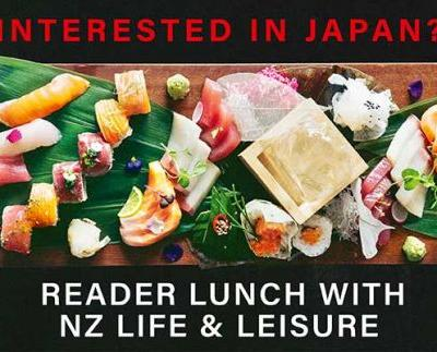 NZ Life & Leisure Reader Lunch with Walk Japan